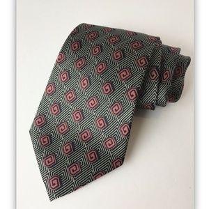 GIORGIO ARMANI Cravattes 100% Silk Tie Geometric
